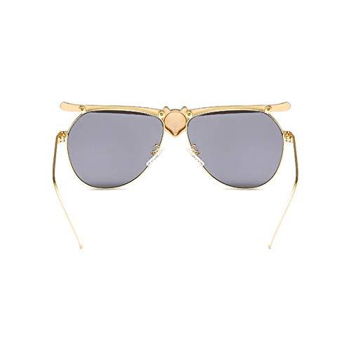 HHAA Occhiali da Sole Leopardati di Cristallo di Lusso per Le Donne 2019 Occhiali da Sole di Marca di Moda Glamour Ladies Designer Shades