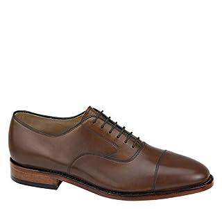 Johnston & Murphy Men's Melton Cap Toe Shoe Tan Calfskin 10 D US (B00MG5XZUO) | Amazon price tracker / tracking, Amazon price history charts, Amazon price watches, Amazon price drop alerts