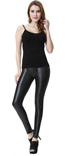 Everbellus Women's Leggings, Black, Large