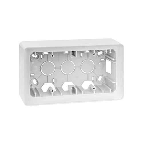 Simon 8200760-030 - Caja Superficie 2 Elem. Blanco
