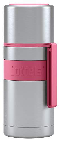 boddels Isolierflasche HEET 350 ml - Deine Thermoskanne für unterwegs (Himbeerrot)