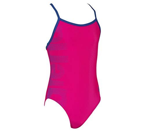 ARENA Mädchen Badeanzug Logo, Freak Rose-Royal, 110