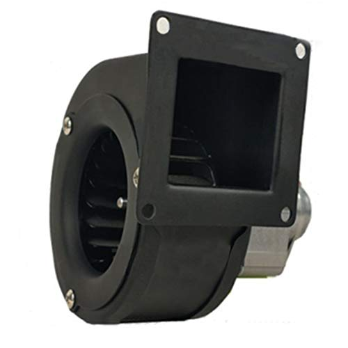 Ventilador centrífugo, carcasa de chapa de acero, diseño de aislamiento térmico, ventilador de ventilación del motor de cobre puro, gas de escape, estufa de chorro caliente, tubería, taller