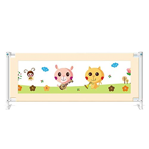Best Deals! GENDA Toddler Bed Rail Crib Fence Crib Net Fall Prevention Baby Fall Prevention Fence Gu...