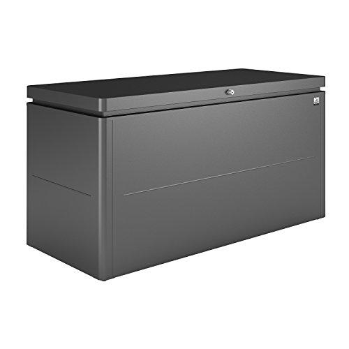 Biohort LoungeBox Designbox dunkelgrau-metallic 160 x 70 x 83,5 cm (Größe 160)