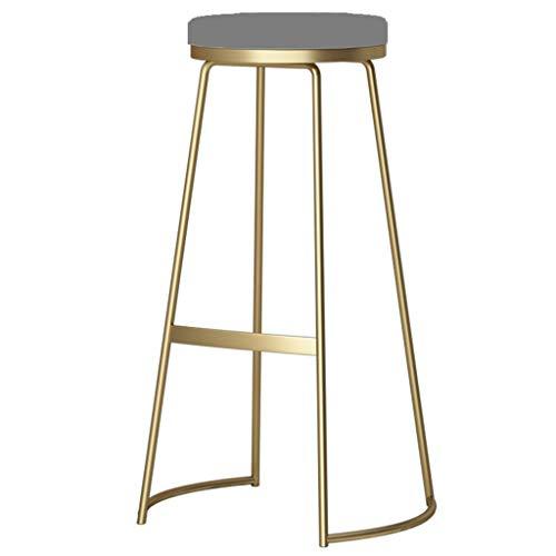 Tuqia Meubel hoge voetplaat gouden bar stoel met pedaal computer stoel lounge stoel creatieve ronde tafel kruk maat 45/65/75 cm woonkamermeubels stoelen
