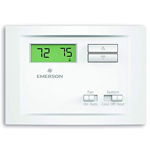 Emerson NP110 Non-Programmable Single Stage Thermostat (Renewed)