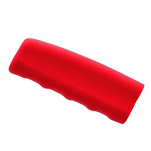 Zfggd Handbremse Set Silikongelabdeckel Auto Handbremse Bremse FIAT Punto Palio UNO Idee Bravo Sedici Grande Tipo Qubo Panda Mobi (Color : Red)