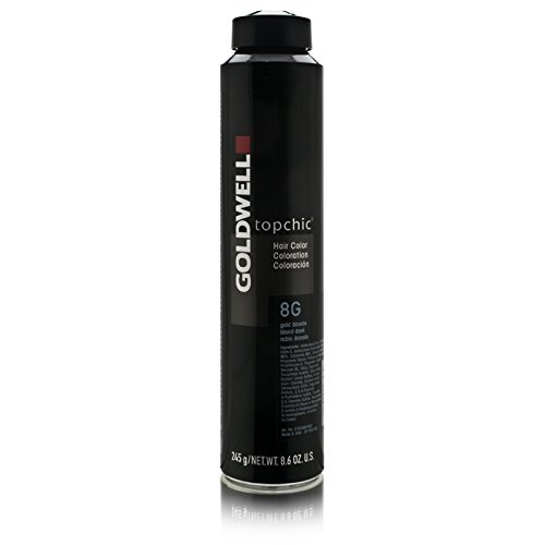 Goldwell Topchic Professioneel Hair Colour Depot, 8G goudblond, 250 ml