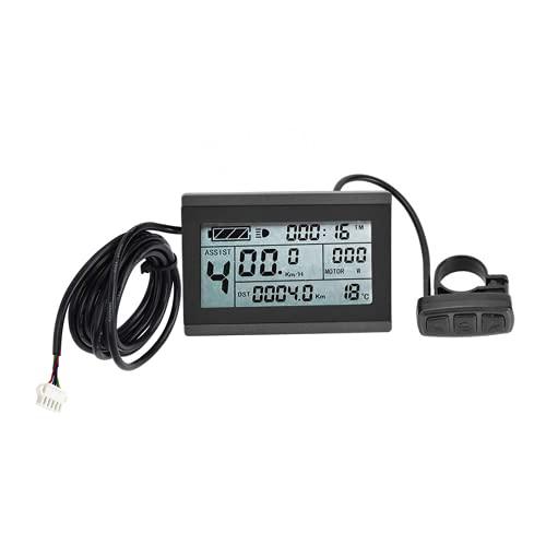 bmc-world | Display KT-LCD3, Professional, Bordcomputer, Tachoanzeige, LCD-Display, Beleuchtet, E-Bike, Elektro Fahrrad, Pedelec, 24V/36V/48V