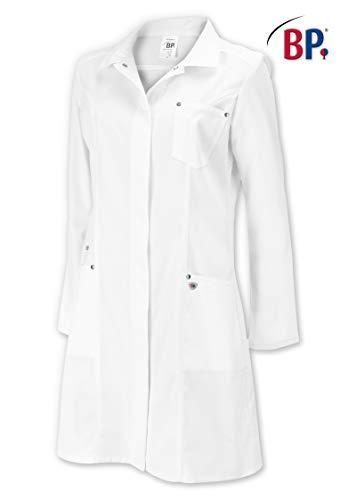 BP 4874-684-21-38 Mantel für Frauen, Lange Ärmel, Umlegekragen, 200,00 g/m² Stoffmischung mit Stretch, weiß ,38