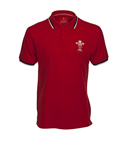 Wales Rugby Union Classic Polo, Hombre