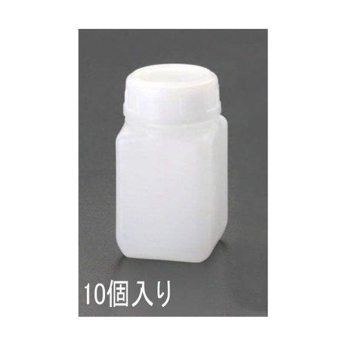 エスコ(ESCO) 角型広口ポリ容器(10個) 90x90x172mm/1L EA508AF-4B