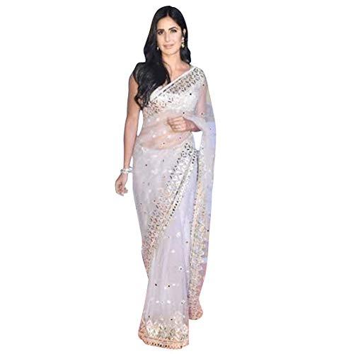 Katrina Kaif Designer Bollywood Organza Netz Sari