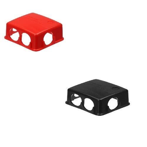Remco Set Batteriepolabdeckung rot/schwarz PVC