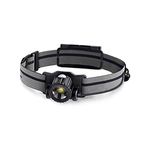 JIAXU LED faro 450 lúmenes máximo 4 modos impermeable cabeza linterna luz impermeable linterna cabeza luces para camping senderismo al aire libre