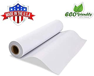 """White Kraft Easel Paper Roll 17.75"""" x 2400"""" (200ft) Ideal for Gift Wrapping, Art, Craft, Postal, Packing, Shipping, Floor Covering, Dunnage, Parcel, Table RunnerMADE in USA"""