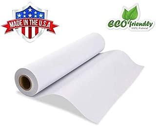 Made in USA White Kraft Paper Wide Jumbo Roll 48