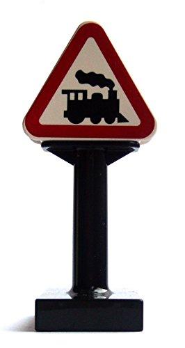 Bahnübergang Verkehrsschild Lego Duplo