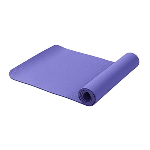 YCEOT 6 mm 183 x 61 cm halkfri yogamatta oscented fitness golvmatta