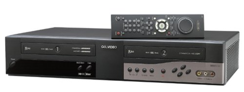 GoVideo DDV3110 Dual Deck 4-Head Hi-Fi VCR