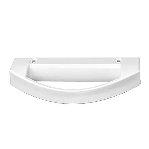 MIRTUX Tirador Compatible para Puerta de Frigorífico AEG y LG. Color Blanco. Código del recambio: 2062808015.