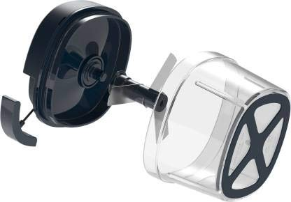 Butterfly Premium Vegetable Chopper 600 ml Blue & Butterfly Smart Glass 2 Burner Gas Stove, Black