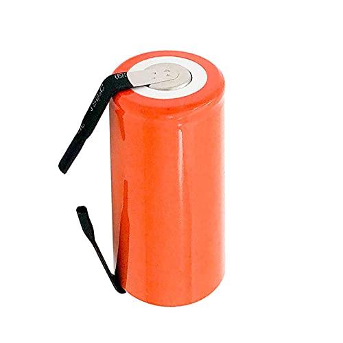 HTRN Batería De Ni-CD SC De 1.2v 2800mah, CéLulas De Repuesto Recargables con LengüEta Y Cable De Extensión 1pc
