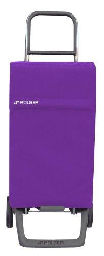 Rolser NEO001M Poussettes à marché Joy/Neo 38 L, Polyester, Rose/Multicolore, 32x27x95 cm