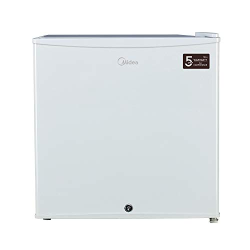 Midea 65 Liter Manual Defrost Single Door Refrigerator, White – HS65L, 1 Year Warranty