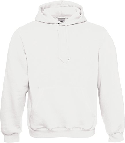 B&C: Kapuzen-Sweatshirt Hooded, Größe:2XL;Farbe:White