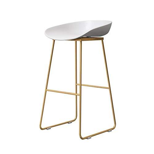 NYDZ barkruk, voor kantoor, hoge hoogte, modern, barstool, design – basisplaat van metaal – ergonomische kunststof stoelen