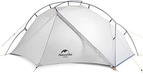 Naturehike Vik,Ultraleichtes Zelt für 1 Person 2019 Neu Zelte,Weniger als 1 kg (Weiß)
