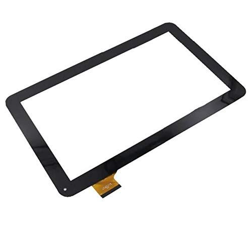 10.1 Pulgadas Ajuste para SPC Glee 10.1 3G Tableta Pantalla táctil Panel táctil Digitalizador de reemplazo de Sensor de Vidrio (Solo Pantalla táctil) (Color : Black)