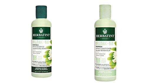 Set Moringa Herbatint Phytoceutic Champús + bálsamo 2 x 260 ml