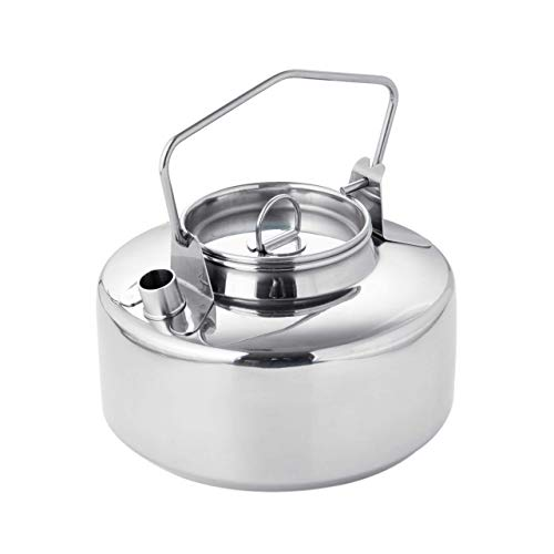 Fire Maple Antarcti Stainless Steel Kettle | 1 Liter Camp Kettle | Great for Boiling Water for Tea, Coffee, Freeze-dried Backpacking Meals | Portable for Camping and Travel | Works as Open Campfire Coffee Pot