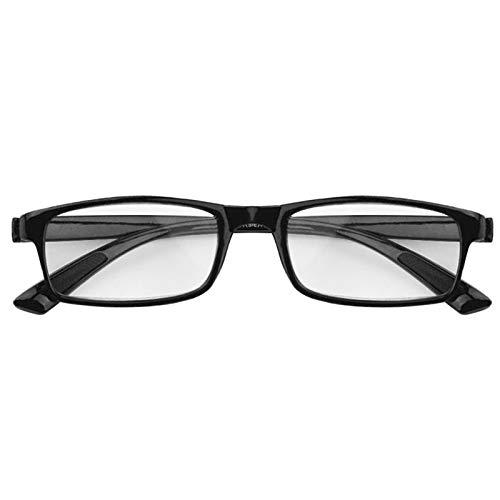 BEARCOLO hars omlijst bril leesbril, leesbrillen veerscharnier bril om te lezen +1,0 1,5 2,0 2,5 3,0 3,5 4,0 dioptrieën