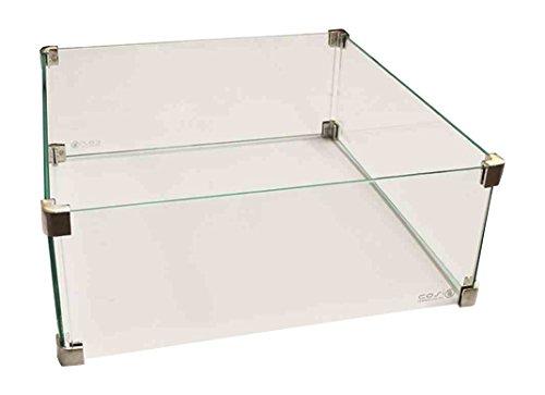 Cosi Glasaufsatz Cosicube Zubehör zu Feuerstelle, Transparent