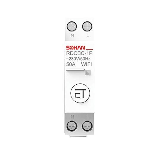 KKmoon Wifi Smart Lichtschalter Diy Breaker Modul Haushalts intelligente WiFi Leistungsschalter-Fernbedienung von APP Voice Control