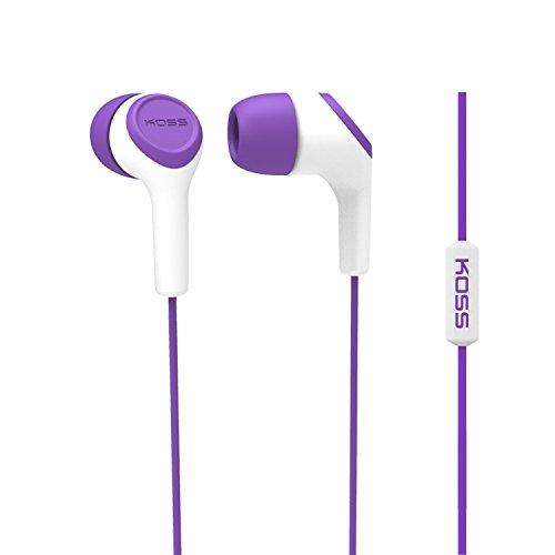 Koss Fone de ouvido intra-auricular KEB15i, roxo