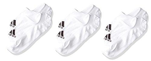 adidas per INVIZ T 3P Calcetines, Unisex Adulto, White/White/White, 4346