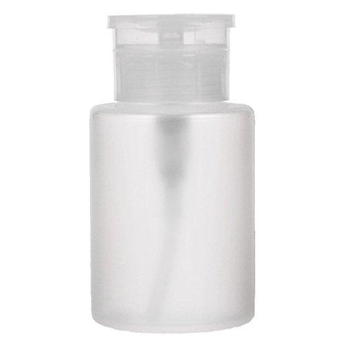 JERKKY Distributeur de Pompe d'art d'ongle, récipient de Bouteille Vide de Distributeur de Pompe d'art polonais d'ongle de 150 millilitres pour Le décapant de Nettoyage