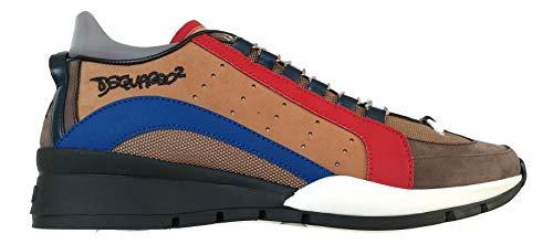 dsquared , Herren Sneaker Braun braun, Braun - braun - Größe: 42 EU