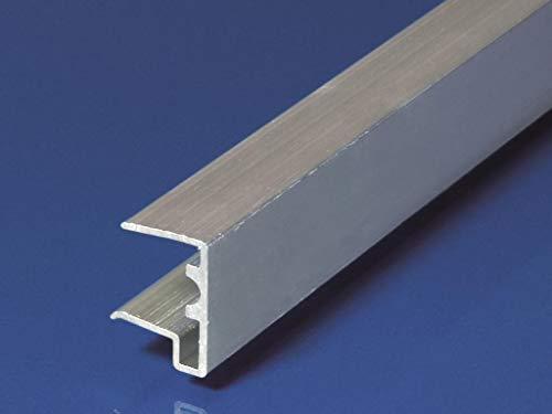 Alu - Tropfkantenprofil für Stegplatten Pressblank 16mm 980mm