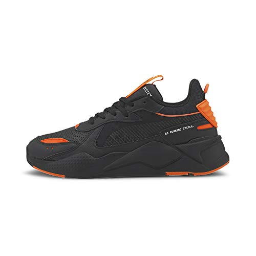 PUMA RS-X Winterized, Zapatillas Unisex Adulto, Negro Black/Ultra Orange, 39 EU