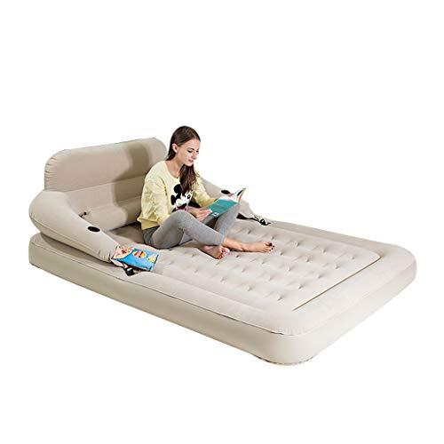 Zholei Comfortabel luchtbed, luchtmatras, luchtbed, draagbaar bed, opvouwbare tent met elektrische pomp