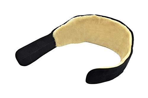 Moro-Design Lammfell Nierengurt Nierenschutz Nierenwärmer medizinischer Rückengurt S-3XL (L)