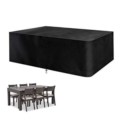 Mifengdaer - Funda para muebles (213 x 132 x 70 cm), color negro
