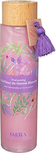 O&RA White Henna Flower Hair Shampoo | 80% natural origin ingredients