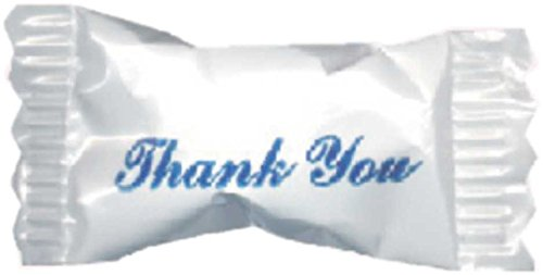 Hospitality Mints Peppermint Ice Crystals, Individually Wrapped with Thank You Message, 26 Ounce, Appx. 500 pieces